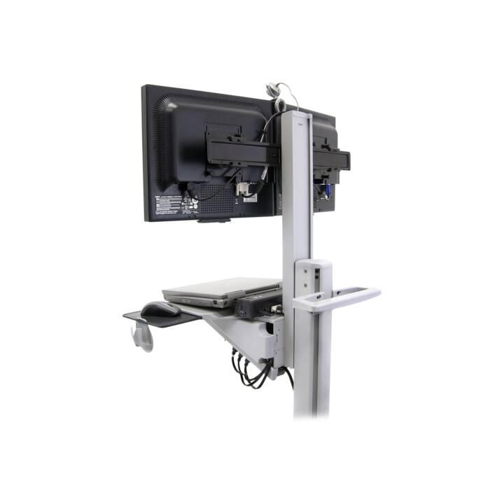 ERGOTRON Neo-Flex Dual WideView Dual WideView WorkSpace Multimedia Cart Grigio Flat Panel Display grigio