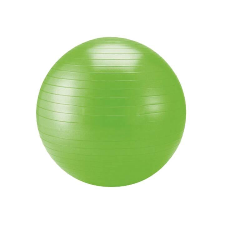 SCHILDKRÖT Palla da ginnastica  (55 cm, Verde)