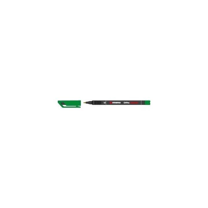 STABILO Permanent Marker (Grün, 1 Stück)