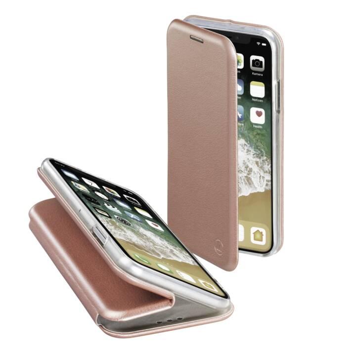 HAMA Flipcover Curve ( iPhone X/Xs, 6.1 inch, Roségold)