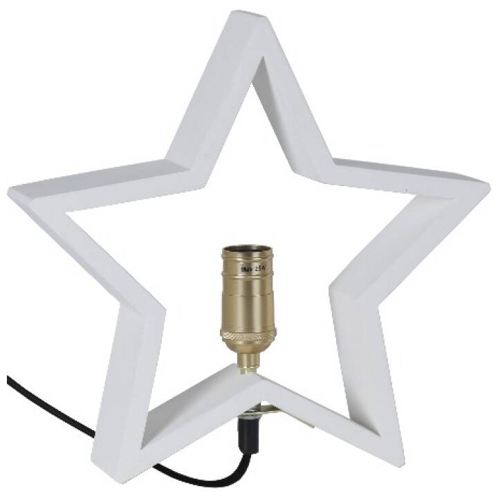 STAR TRADING table star, blanc