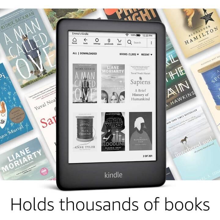 "AMAZON Kindle (6"", Blanc, Bluetooth, WiFi, 4 Go)"