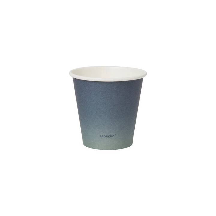 DUNI Urban Jungle Tasse à boire jetable (180 ml, 40 x)