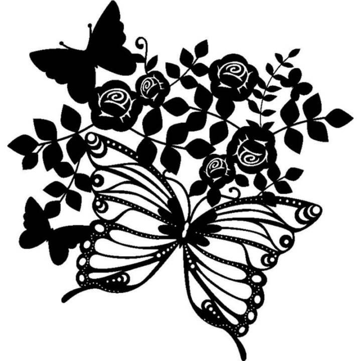 MARABU Spencil per pitturare Silhouette Stensils