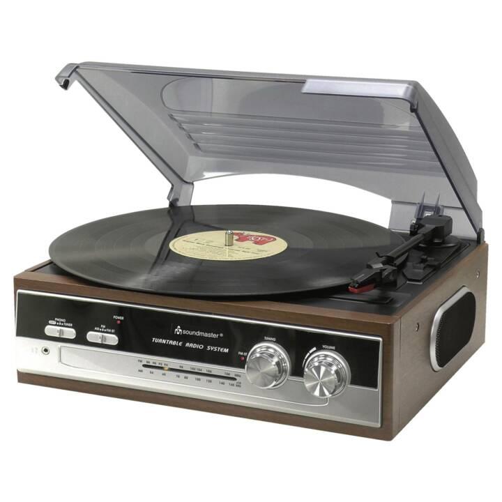 SOUNDMASTER PL186H Giradischi con radio FM