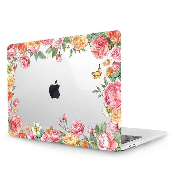 """EG MTT Cover pour MacBook Pro 15"""" Touch Bar - Fleurs roses"""