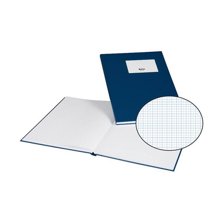 BIELLA business book, A4, bleu, 80 feuilles