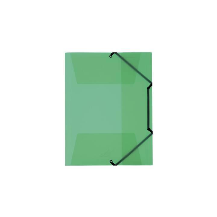 KOLMA RACER cartella elastica Penda Easy A4 verde verde
