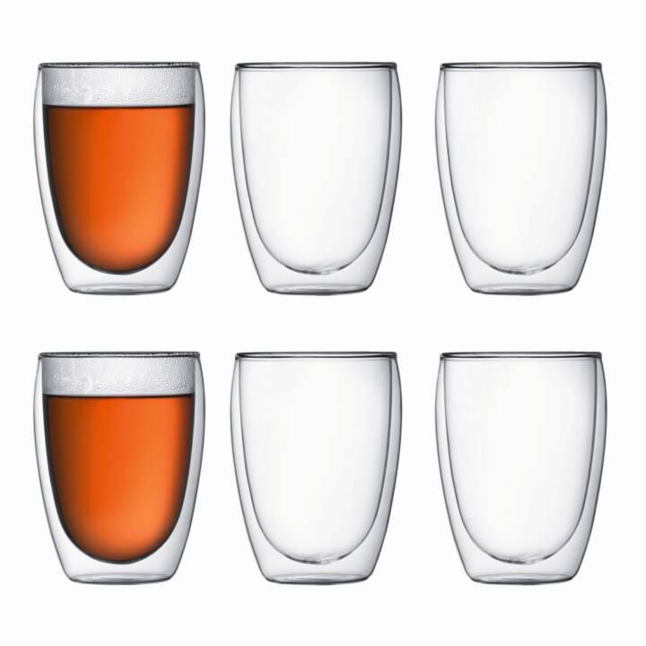 BODUM verre à café Pavina 3.5 dl, 6 pièces