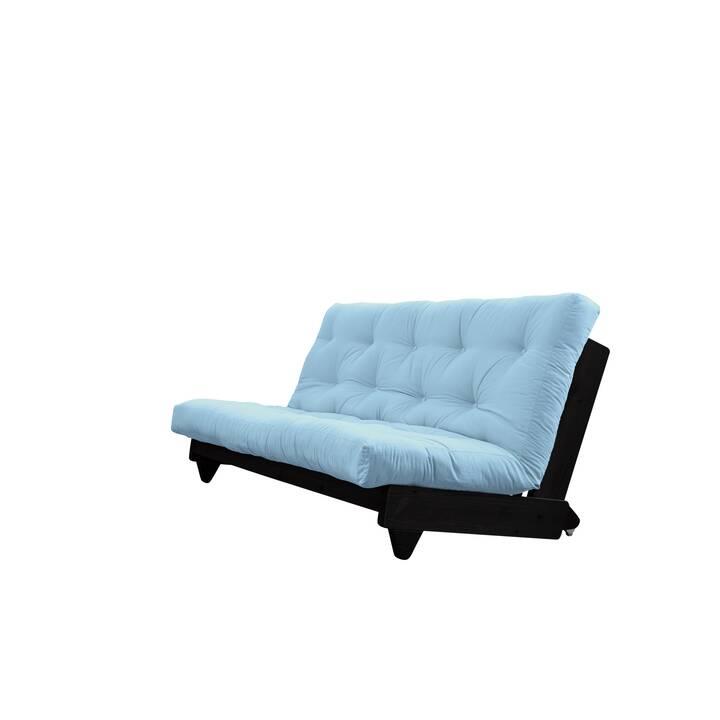 KARUP DESIGN Fresh Divano letto (Poliestere, Blu chiaro, 200 cm x 100 cm)