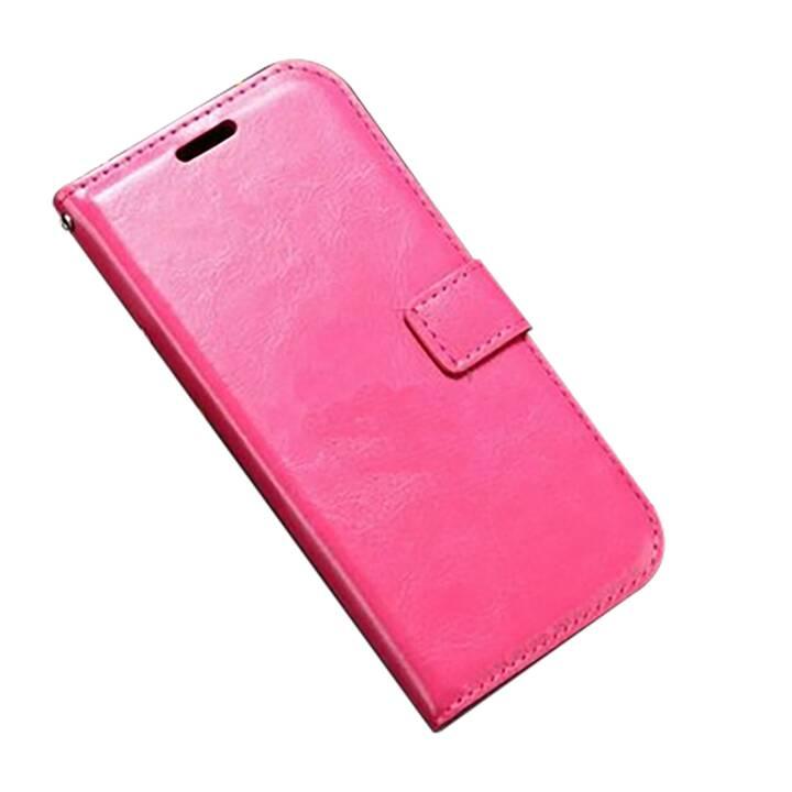 EG Mornrise Custodia a portafoglio per Huawei Honor 10 Lite - Rosa rosa