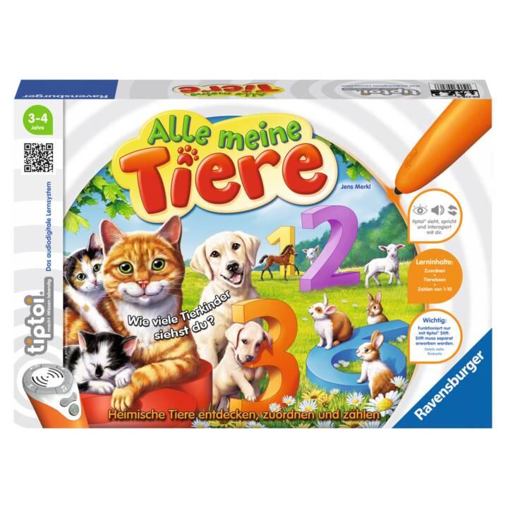 TIPTOI Alle meine Tiere Jeu éducatif (DE)