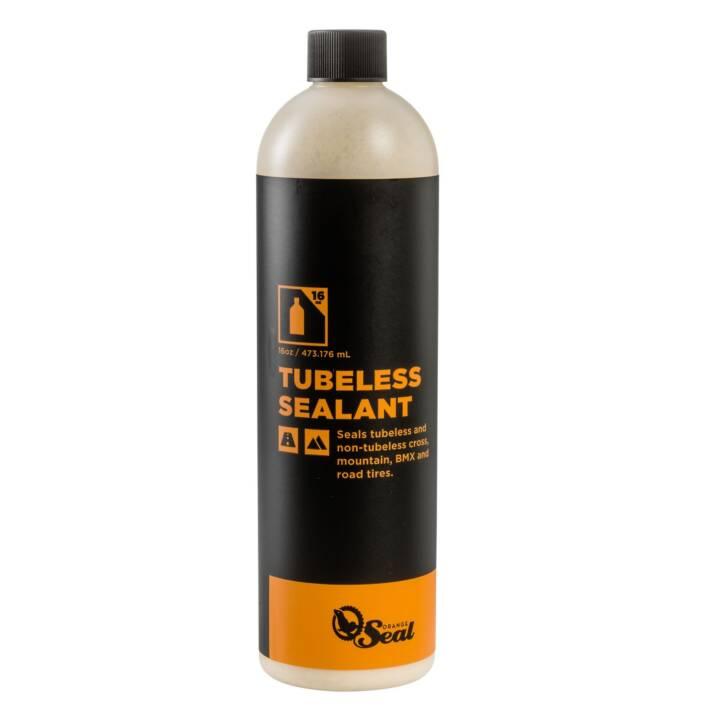 Lait de scellement ORANGE SEAL Lait sans tube Lait de scellement au latex naturel REGULIER, 0,48 l