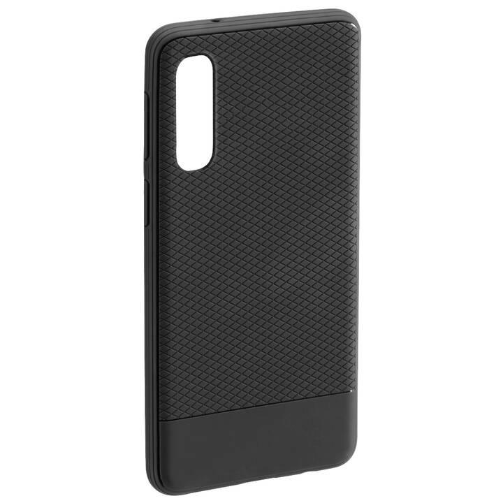 HAMA Backcover TPU (Galaxy A50, Schwarz)