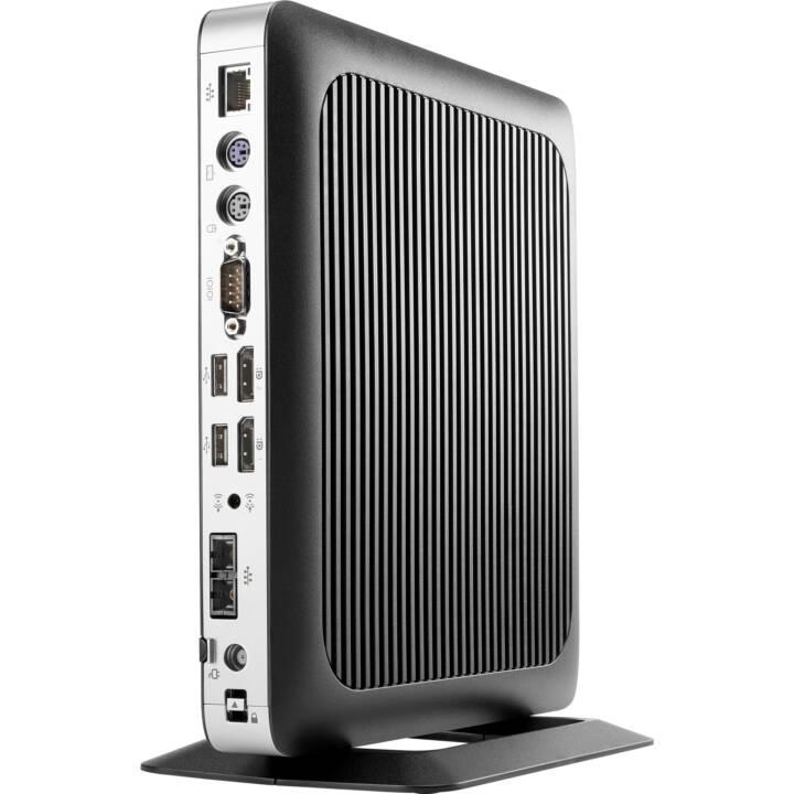 HP ThinClient t630, 4GB, SSD 16GB m.2, T (AMD G-Série, 4 GB, Flash, Noir, Argent)