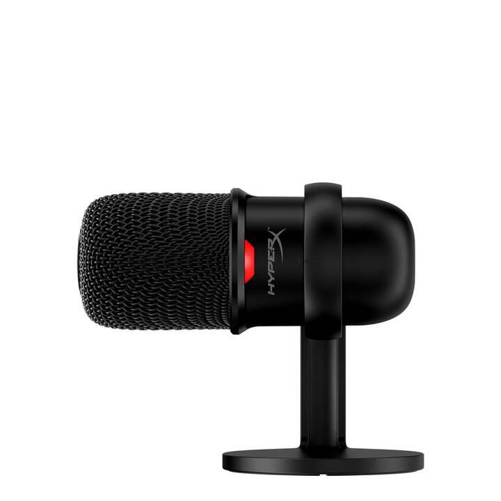 HYPERX SoloCast Microphone de table (Noir)