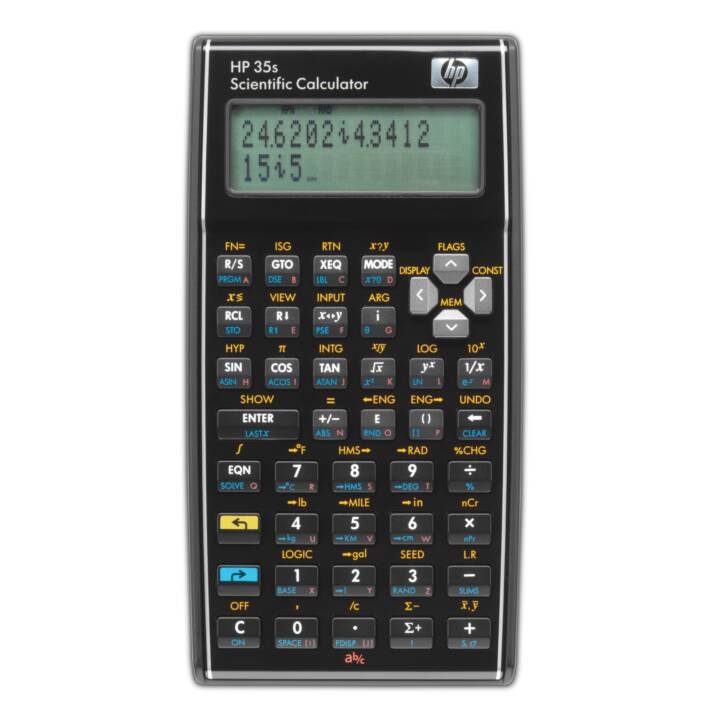HP 35s Calcolatrici per la scientifiche (Batteria / Accumulatore)