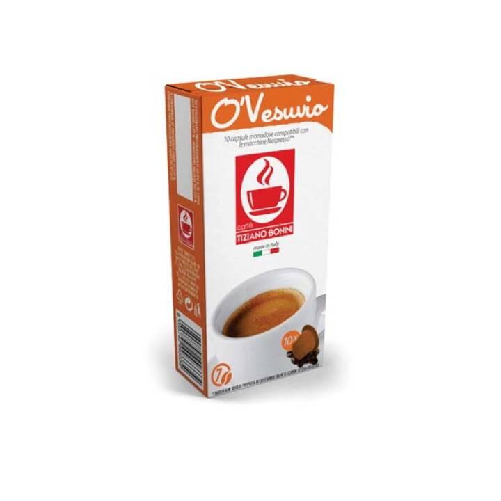 TIZIANO BONINI Kaffeekapseln Nespresso Ristretto O'Vesuvio (10 Stück)