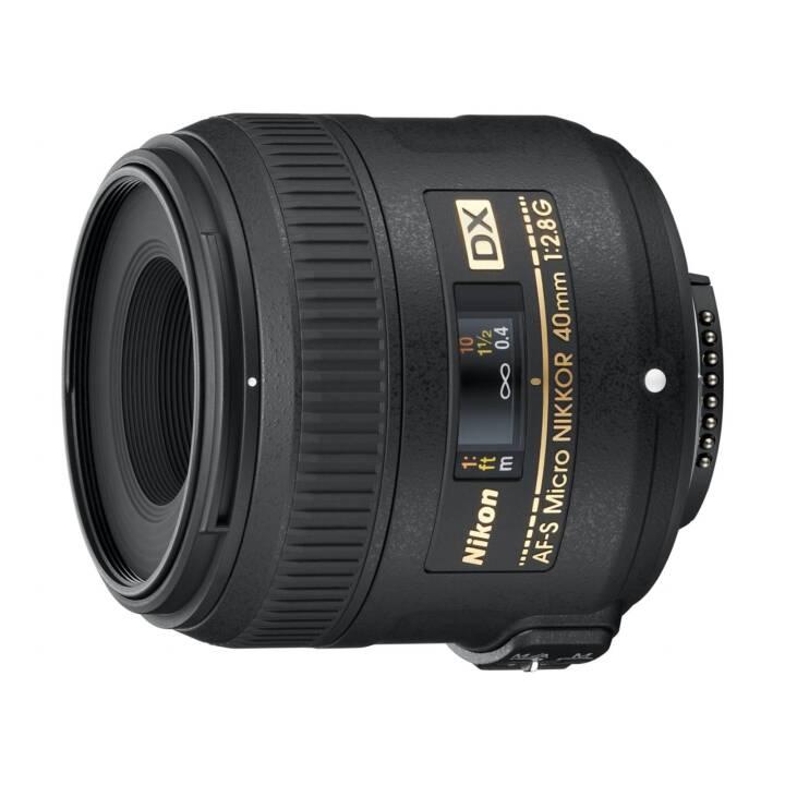 NIKON NIKKOR AF-S DX (40mm, Micro f/2.8G)