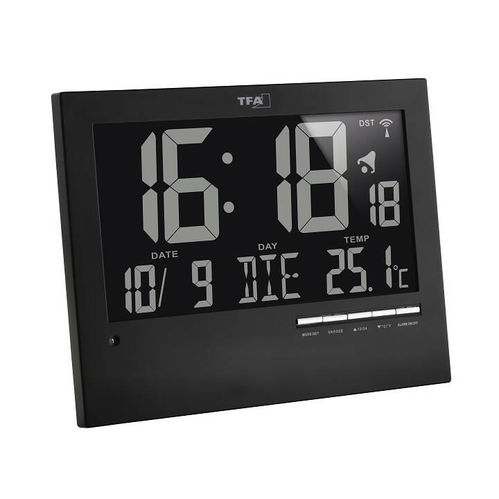 TFA Orologio da parete (Digitale, 230 mm)