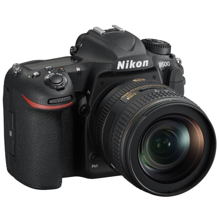 NIKON D500 + AF-S DX 16-80mm F2.8-4 E ED VR (20.9 MP, Bluetooth, WLAN)