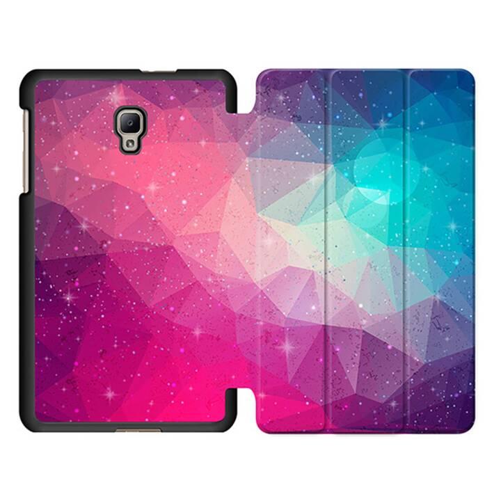 """EG MTT Sacoche à comprimés avec housse pliable Smart Foldable pour Samsung Galaxy Tab A 8"""" (2017) Tablet - Rose"""