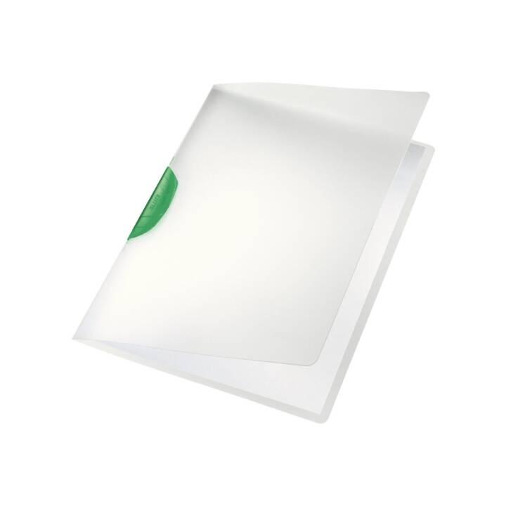 Chemise à clip LEITZ Color Clip A4 transparent