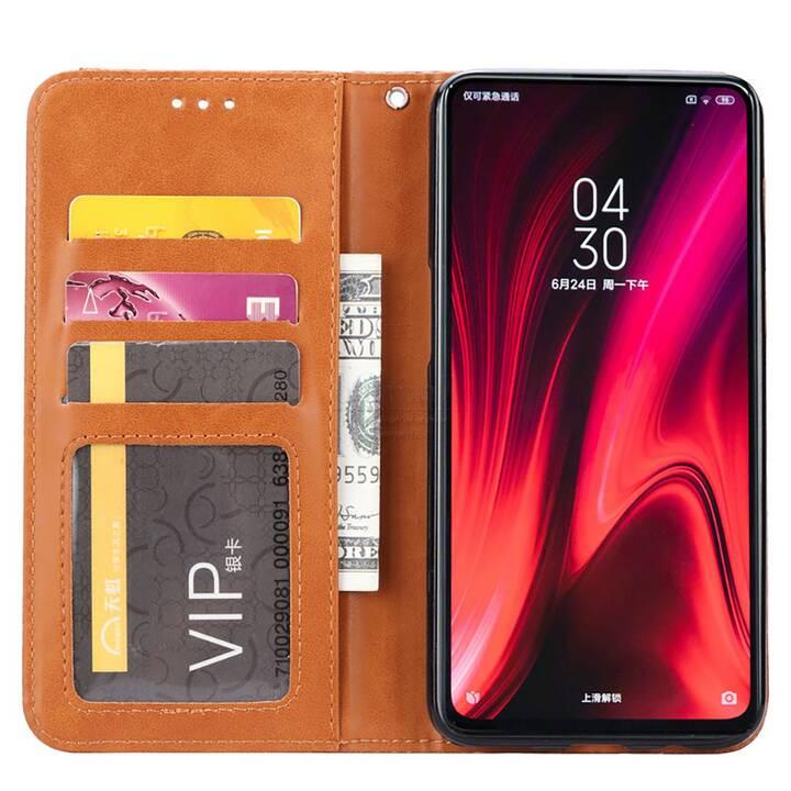 EG Mornrise Wallet Case für Xiaomi Redmi K20 - Hellbraun