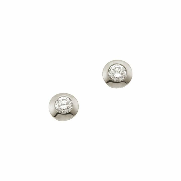 MUAU Clous d'oreilles (Diamant, 4 mm)