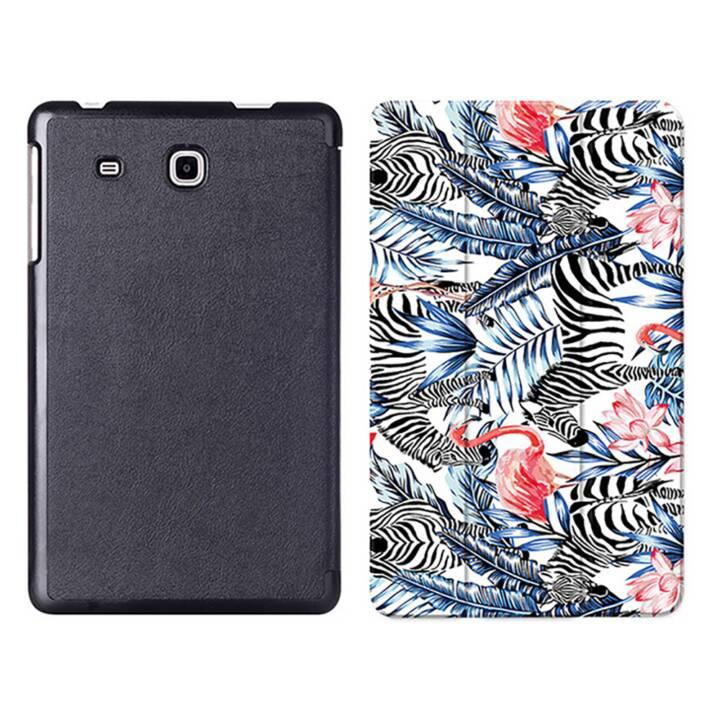 """EG MTT Sacoche à comprimés avec étui Smart pliable pour Samsung Galaxy Tab A6 7"""" Tablet - Flamingo"""