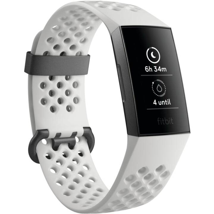 FITBIT Charge 3 Special Edition (S, L, Bianco)