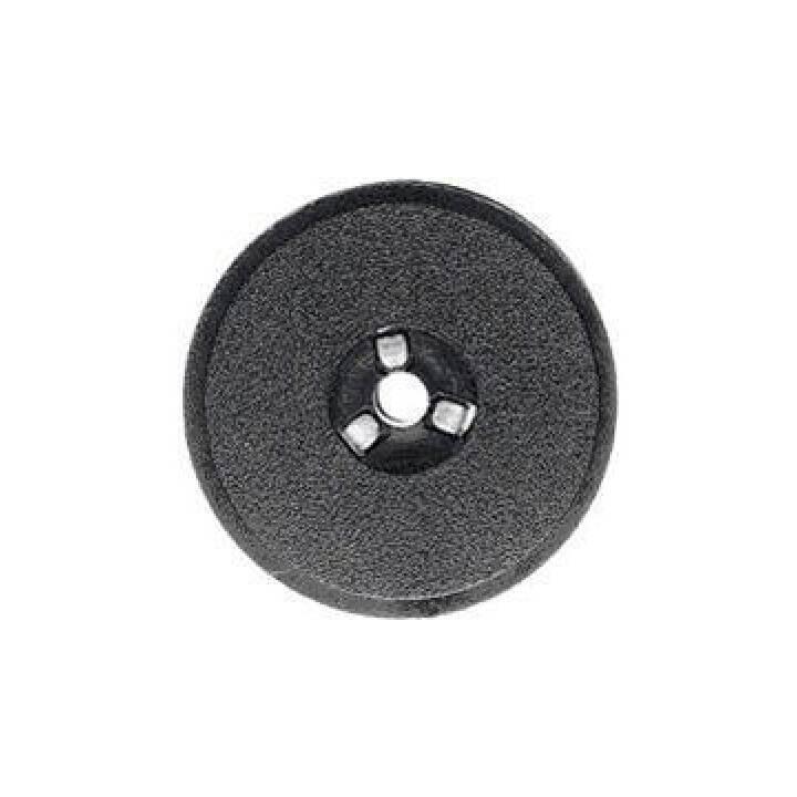KORES Nastro Nylon Nylon nero/rosso per Canon/Facit/Sharp 13mm/4m