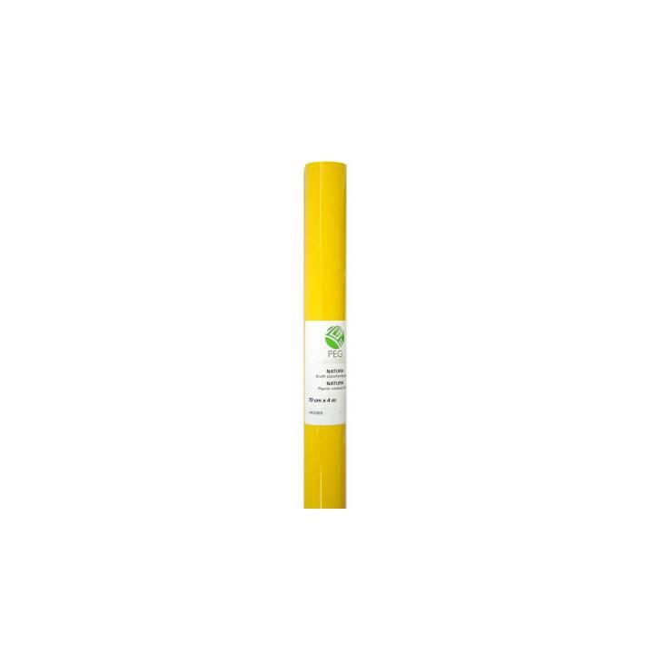 NEUTRAL Power Gift Paper 70cmx4m giallo