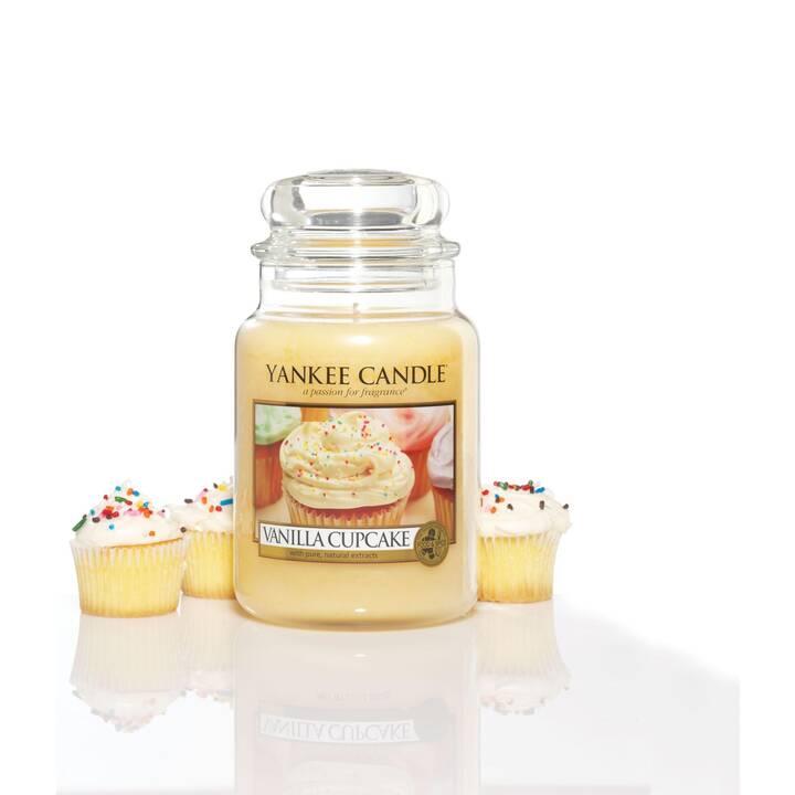 YANKEE CANDLE Vanilla Cupcake Duftkerze (Süss, Würzig, Zitrone, Vanille, 1 Stück)
