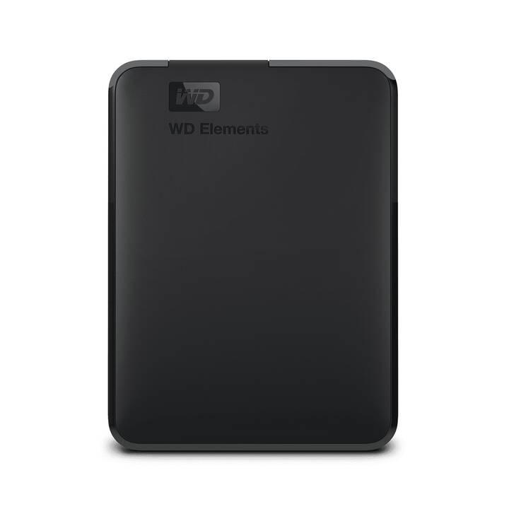 WD Elements Portable (USB 3.0, 5 TB, Nero)