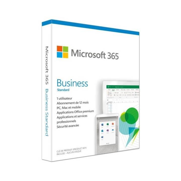 MICROSOFT 365 Business (Abbonamento, 1 anno, Francese)