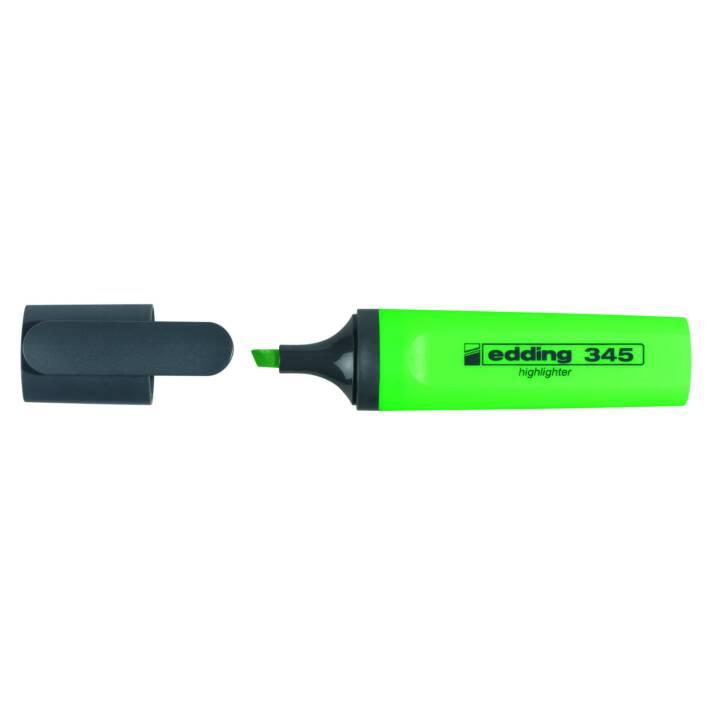 EDDING Evidenziatore (Verde, 1 pezzo)
