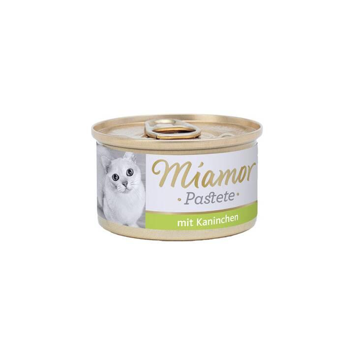 MIAMOR Pastete (Adulto, 85 g, Coniglio)
