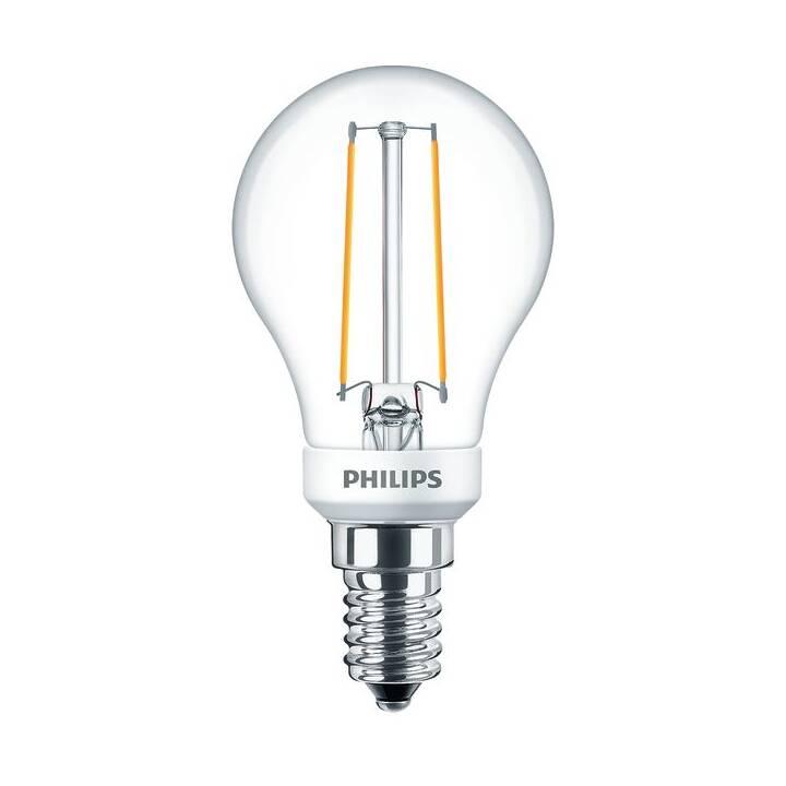 PHILIPS Lampe (LED, E14, 2.7 W)