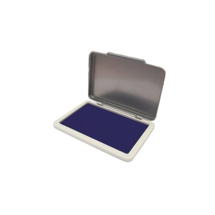 Tampone per francobolli KORES METALLICA misura 2 blu