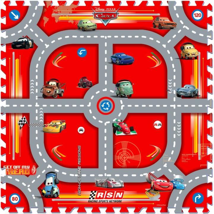 KNORRTOYS Krabbeldecke Cars Modular Race (Rot, Grau)