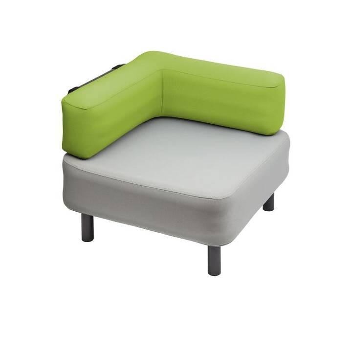 ONE BAR Element 1 Tabouret assis (Vert, Gris)