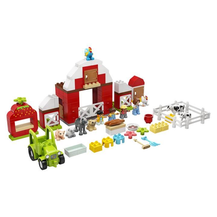 LEGO DUPLO La grange, le tracteur et les animaux de la ferme (10952)