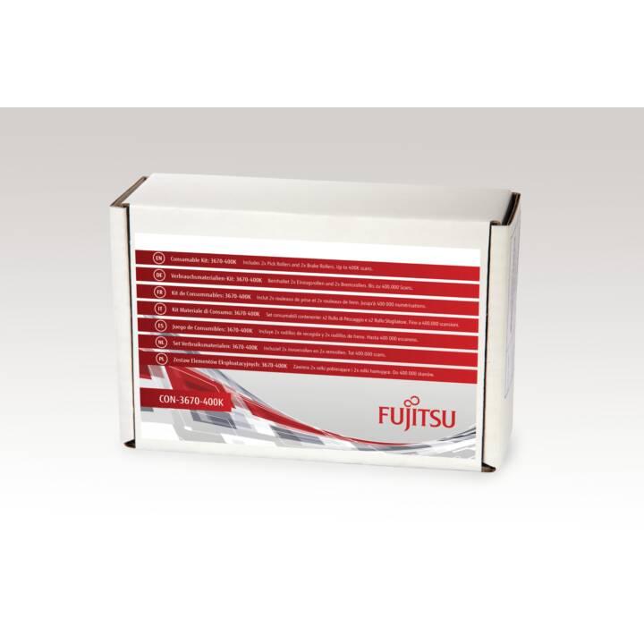 FUJITSU 3670-400K Scanner Verbrauchsmaterialienset