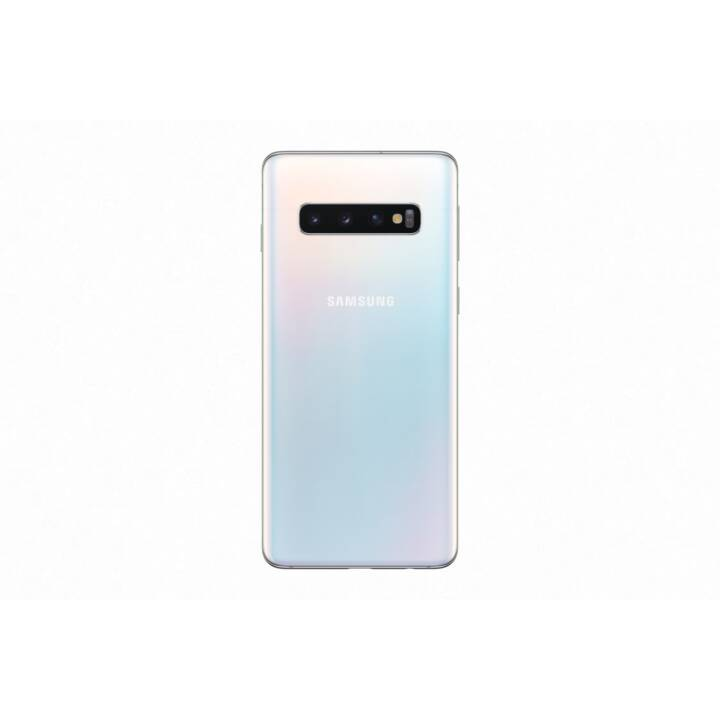 "SAMSUNG Galaxy S10  (6.1"", 128 GB, 16 MP, Prism White)"