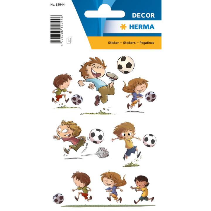 L'adesivo HERMA adesivi amici del calcio