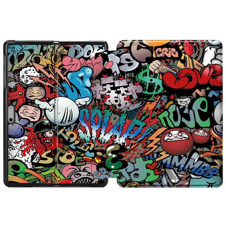 "EG MTT Étui pour Microsoft Surface Go 10"" (2018) - Graffiti"