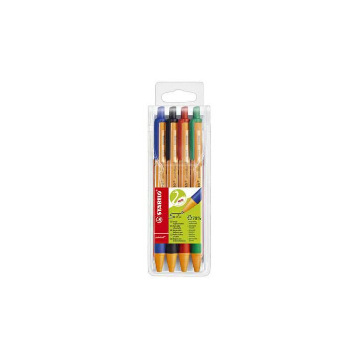 Stylo à bille STABILO stylo à bille bille bille 4 pièces