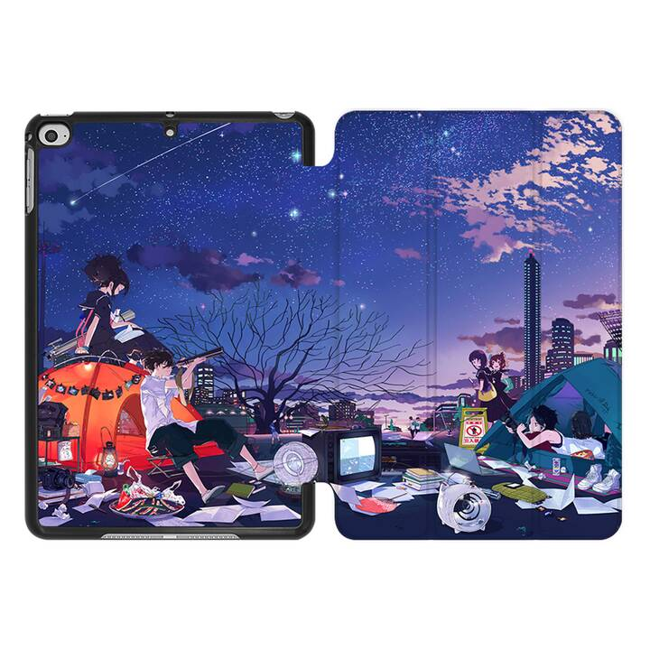 EG MTT Coque pour iPad Mini 4 (2015) et Mini 5 (2019) - anime sky