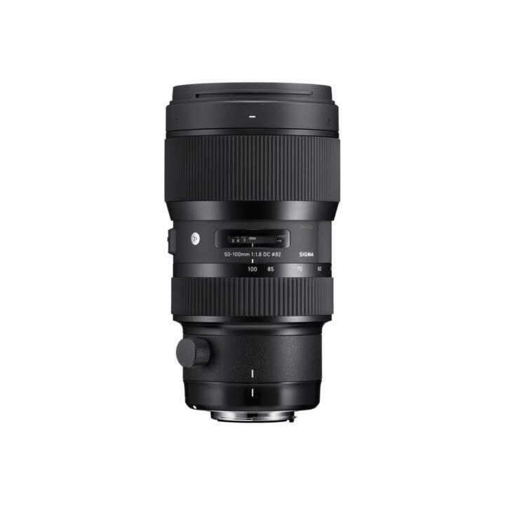 Zoom téléobjectif SIGMA 50 mm - 100 mm f/1.8